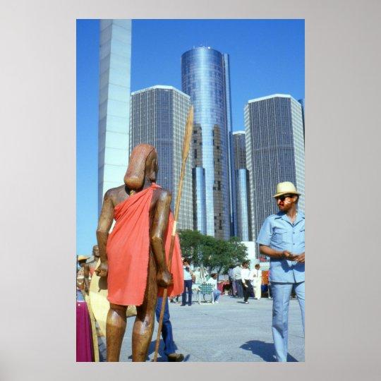 Detroit African Market - Photo Art Print