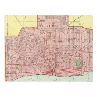 Detroit and Vicinity Postcard