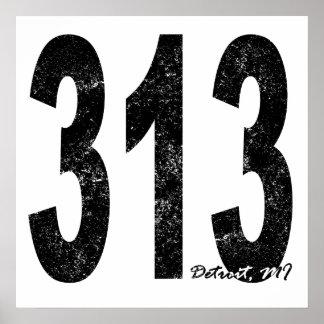 Detroit apenada 313 poster