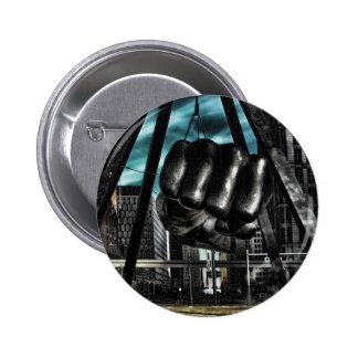 detroit arm 2 inch round button