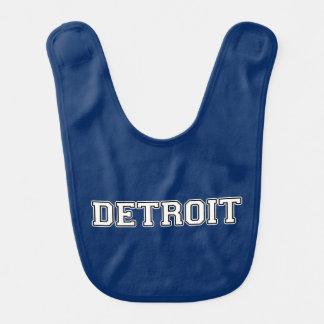 Detroit Babero Para Bebé