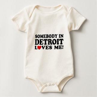 Detroit Baby Bodysuit