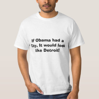 Detroit Bankruptcy, Obamas city Shirt