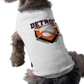 DETROIT BASEBALL PET SHIRT