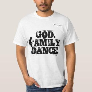DETROIT BLACK AND WHITE GRAPHIC DANCE TSHIRT