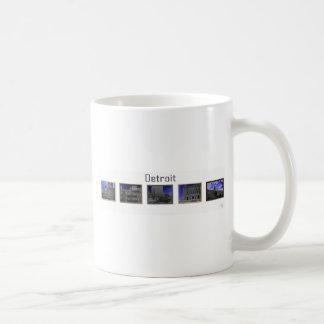 Detroit Blues Coffee Mug