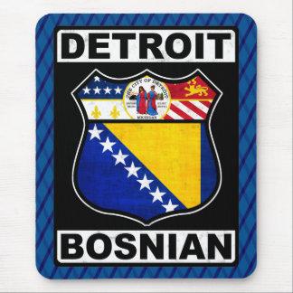 Detroit Bosnian American Mousemat Mouse Pad