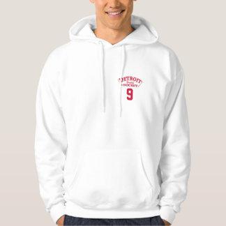 Detroit Builds Hockey Hooded Sweatshirt