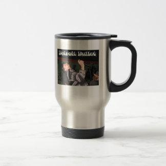 Detroit Bullet fast coffee mug. Travel Mug