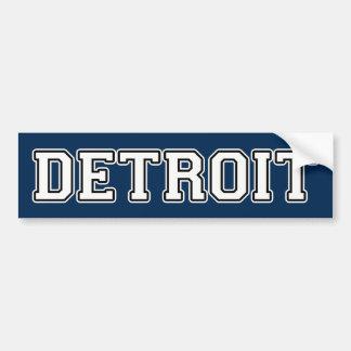 Detroit Bumper Sticker