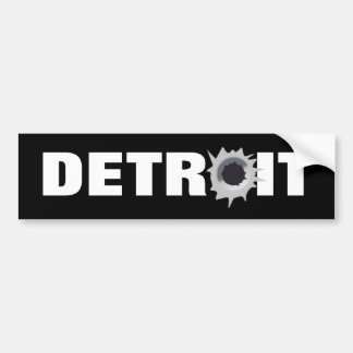 Detroit Bumper Sticker