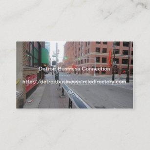 Detroit business cards templates zazzle detroit business circle collection business card colourmoves