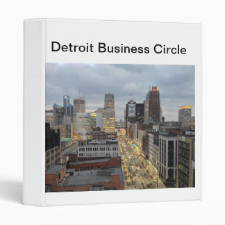 Detroit Business Circle Promotions Collections 3 Ring Binder