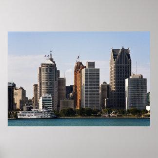 Detroit céntrica poster