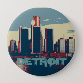 Detroit City Button