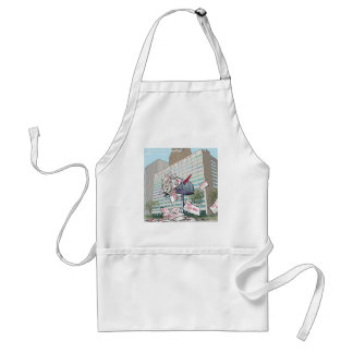 Detroit City Hall Funny Adult Apron