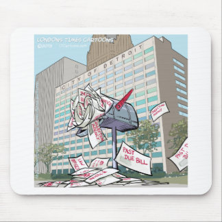 Detroit City Hall Funny Mouse Pad
