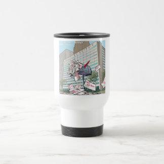 Detroit City Hall Funny Travel Mug