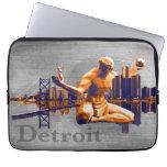 Detroit City Laptop Sleeve