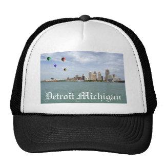 Detroit City Michigan Hats