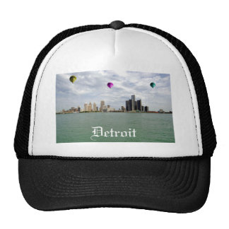 Detroit City Michigan Trucker Hat