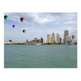 Detroit City Michigan Postcards