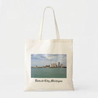 Detroit City Michigan Tote Bag
