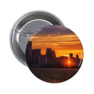 Detroit Cityscape 0527 Pins