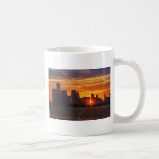 Detroit Cityscape 0527 Mugs