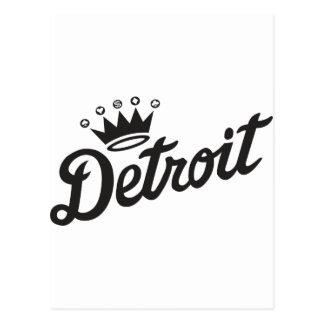Detroit Crown Postcard