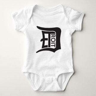 Detroit D Baby Bodysuit