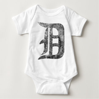 Detroit D wash Baby Bodysuit