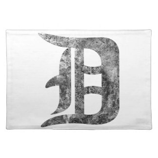 Detroit D wash Placemat