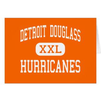 Detroit Douglass - Hurricanes - High - Detroit Greeting Card