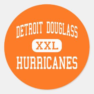 Detroit Douglass - Hurricanes - High - Detroit Classic Round Sticker