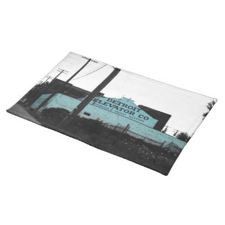 Detroit Downtown Cloth Placemat