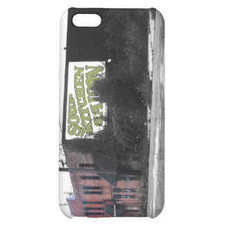 Detroit Downtown destroyed streets iPhone 5C Cover