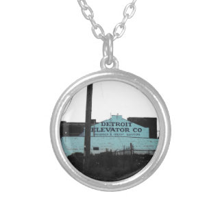 Detroit Downtown Silver Plated Necklace