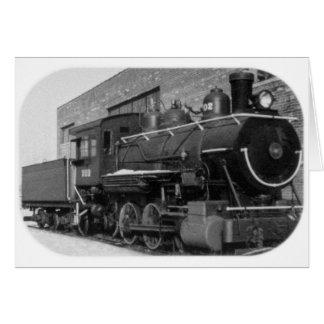 Detroit Edison Engine # 202 Card