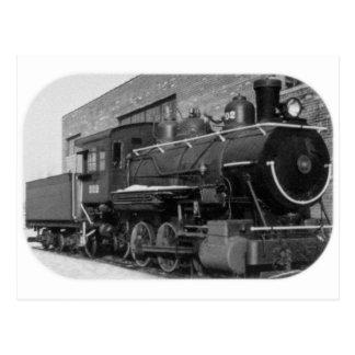 Detroit Edison Engine # 202 Postcard