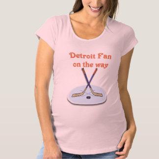 Detroit Fan on the way Maternity T-Shirt