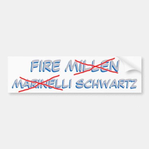 Detroit  : FIRE SCHWARTZ Car Bumper Sticker