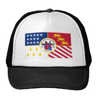 Detroit Flag Mesh Hats