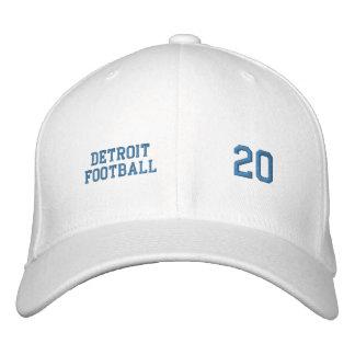 Detroit Football Embroidered Baseball Cap