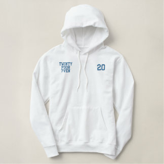 Detroit Football Embroidered Hoodie