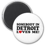 Detroit Fridge Magnets