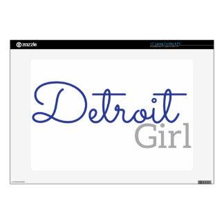 "Detroit Girl 15"" Laptop Decal"
