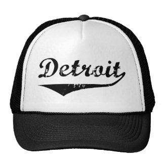 Detroit Gorras De Camionero