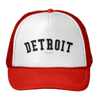 Detroit Gorro De Camionero