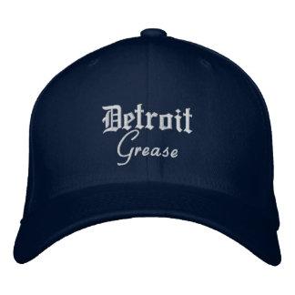 Detroit Grease Flex Fit Wool Cap Navy